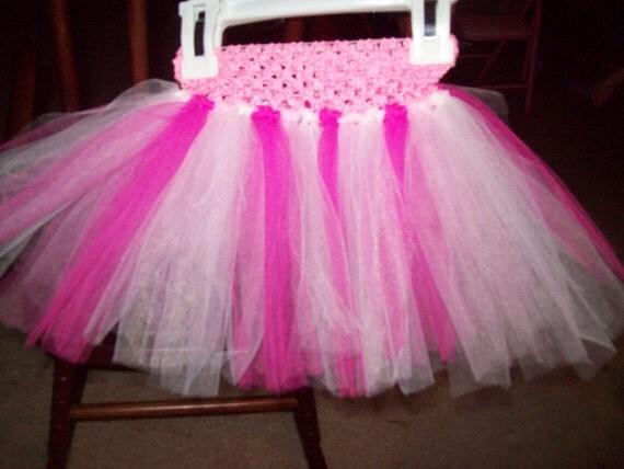 Pink & white tutu