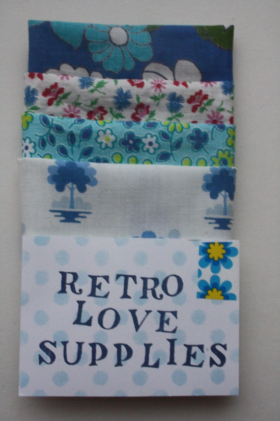 Vintage fabric gift pack &Limited Edition Art Card