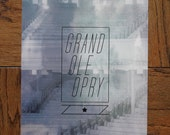 GRAND OLE OPRY - 11x17 Tennessee Poster