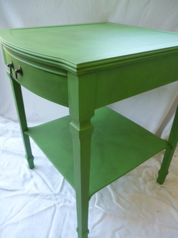 green end table 2
