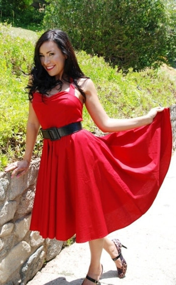 Clearance ready to wear callista 1950s rockabilly retro for Vintage pin up wedding dresses