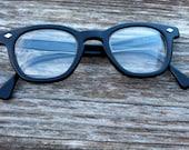 Vintage prescription glasses steampunk glasses, eyewear glasses eyewear frames black rocker chic glasses, black frames, plastic glasses