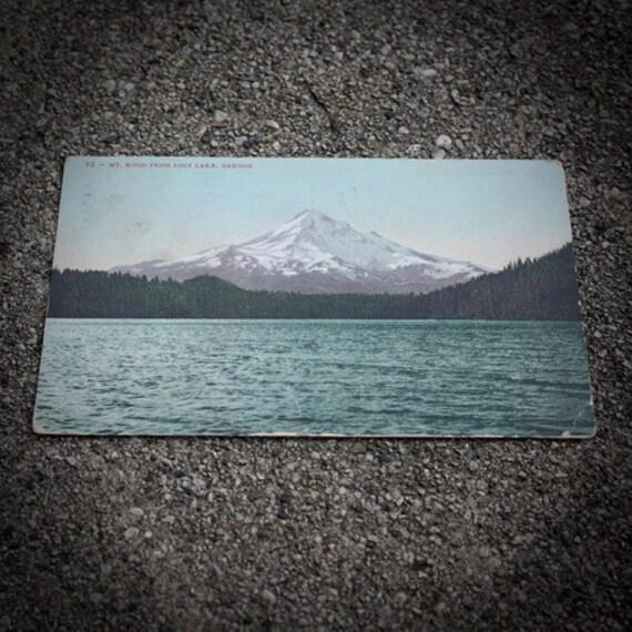 Mt. Hood Vintage Postcard
