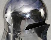 Sallet in Mild Steel SCA Helm Helmet