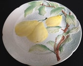 Vintage french  porcelain plate by K&G St clément