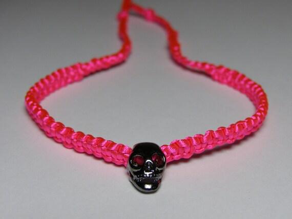 Neon Scull Bracelet