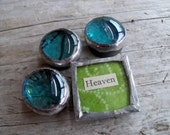 Individualized Glass Gem Magnets (Heaven)