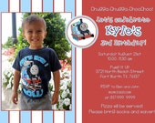 Thomas the Train Birthday Invitation - Customized for you
