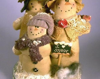 """Cloth Doll Pattern """"The Winters"""""""