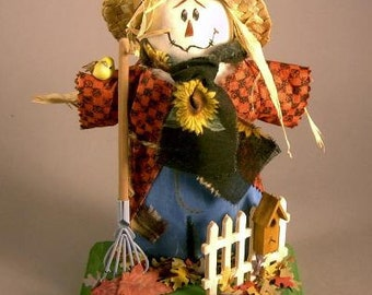 """Cloth Doll Pattern """"Scarecrow"""""""