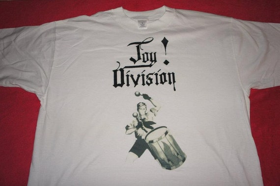 "Joy Division ""warsaw"" T-shirt size Large Men"