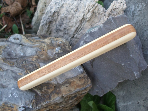 Baby Rattle, All natural bamboo and maple