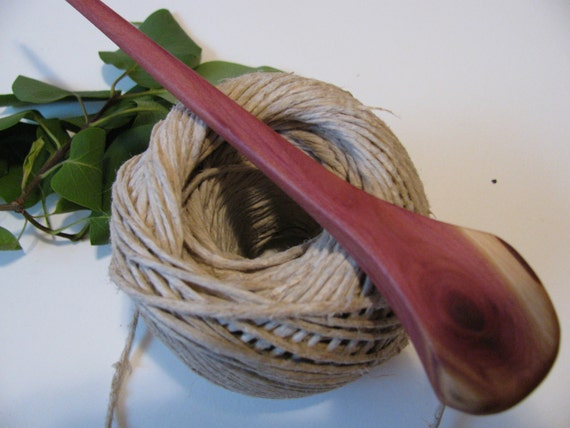 Shawl pin. Hair pin. For scarves, cowls, crochet or your fabric art creations. Made of Juniper wood.