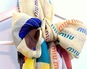 "20% OFF Miu Miu ""Over the rainbow"" Vintage Silk Scarf. Large long square"