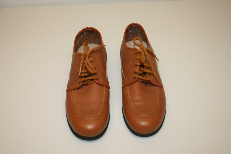 Oxford Shoe camel textile with brown suede | Andiz
