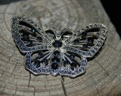 Old Vintage Butterfly Brooch