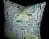 Think Green Eco pillow cover