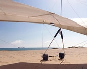 Delta plane in the beach, Fine Art Photography 10x5 in