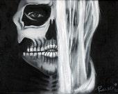 Mysterious Bones 12x18 Print.