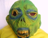 RESERVED for Mark Creepy Latex Topstone Ghoul Mask