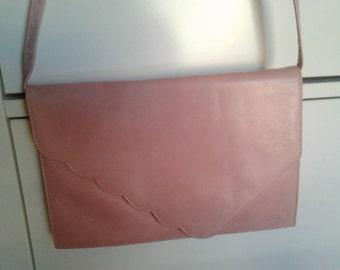 Lovely Romantic 1980's Pink Envelope bag