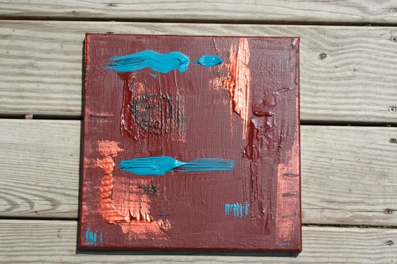 Speak Up:  Throat Chakra Alignment Abstract Intent Painting