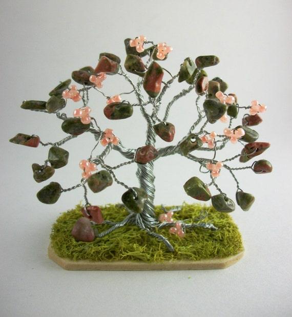 Tiny Tree - Unakite