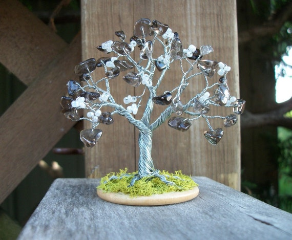 Tiny Tree - Smoky Quartz