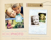 All Occasions Photo Card Templates. 5X7 Photoshop PSD Files - For Personal and Commercial Use - T031.