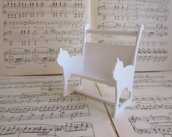 Shabby Chic Furniture Cat Bench