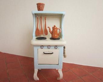 Custom Order  - Dollhouse Miniature Stove Vintage