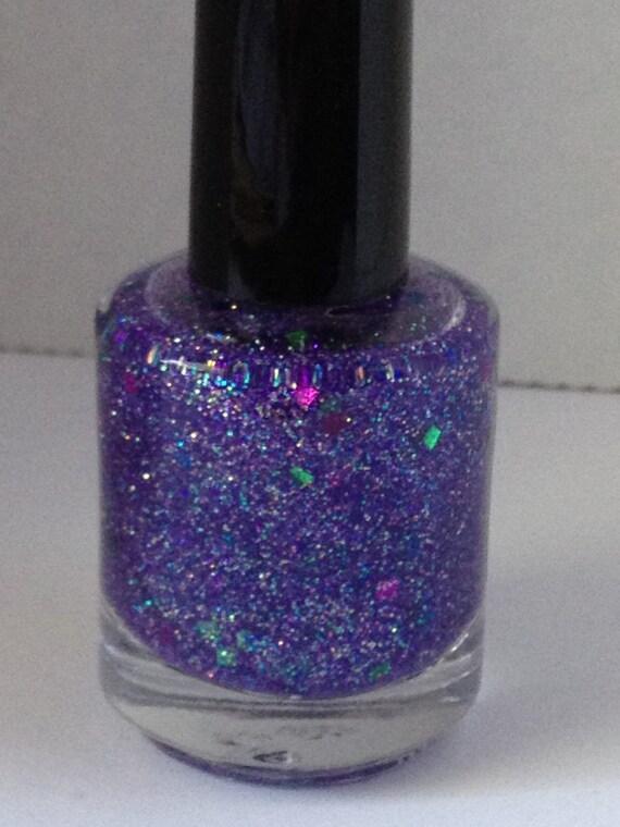 Sassy Pants - Purple Glitter Nail Polish 15 mL