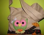 A lovely little decor fabric purse / handbag - custom applique wit ANY design