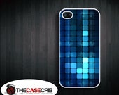 Blue abstract design iPhone 4s and iPhone 4 Case, Cover