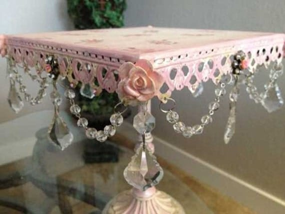 Decor Cake Holder : French Decor Cake Stand Mother s Day Gift Vintage Replica