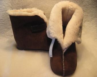 Medical Boot Sheepskin Slippers