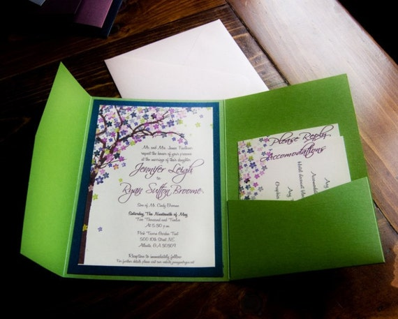 Nature Themed Wedding Invitations Items Similar To Wedding Invitations Rustic Wedding