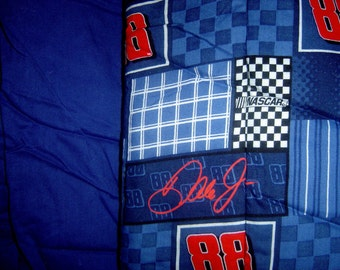 Hand Crafted Dale Jr. Nationwide Blanket