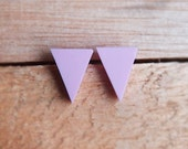 Triangle Studs - Musk