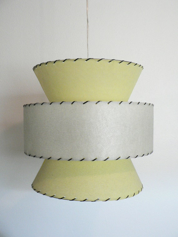 Retro Mid Century Atomic Style Hanging Swag Lamp SALE