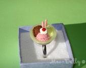 Ice cream bowl ring.