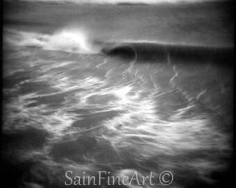 "Ghost Wave - Ocean Art - Fine Art Photography  5""X5"""