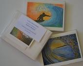Wave Art Cards