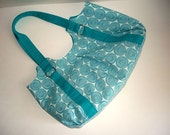 Blue and White Handbag - Clearance
