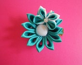 kanzashi flower & butterfly