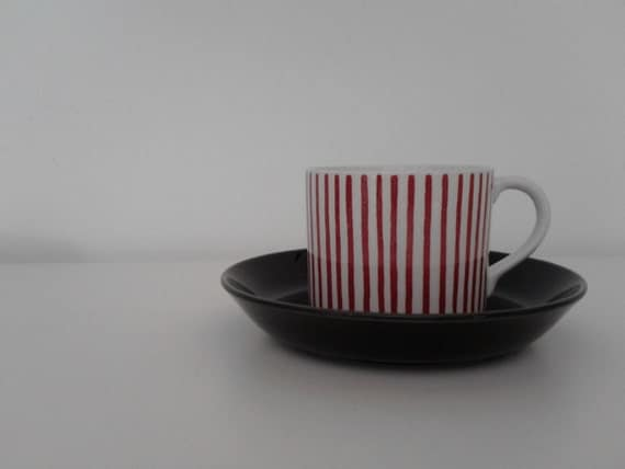 Vintage Rorstrand Kadett cup and saucer
