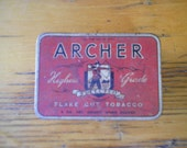 Archer Highest Grade Selected Flake Cut Tobaccon Tin
