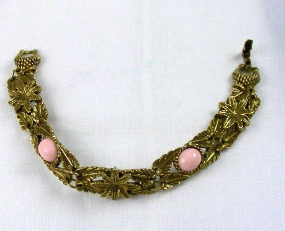Goldette Bracelet - Victorian Revival 1960's - Reserved