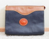RESERVED. Vintage Dooney & Bourke Style Purse - pebbled leather, long strap