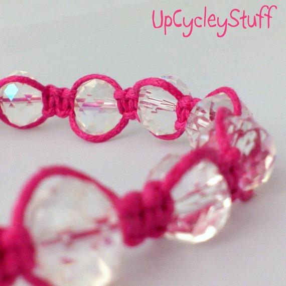 Pretty In Pink - Macrame Bracelet